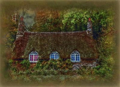Devonshire Cottage Poster by Hanny Heim