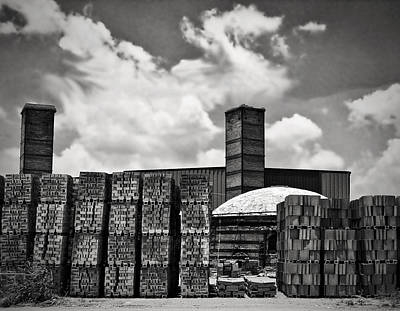 D'hanis Brick Factory Poster by Wendy J St Christopher