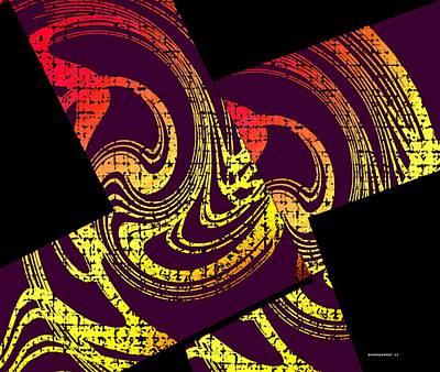Diagonals Poster by Mario Perez
