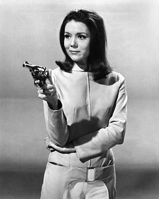 Diana Rigg In The Avengers  Poster by Silver Screen