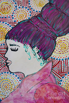 Did You See Her Hair Poster by Jacqueline Athmann