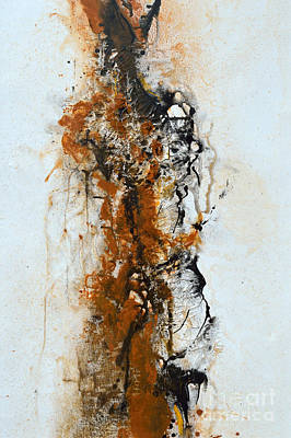 Die Trying - Abstract Poster by Ismeta Gruenwald