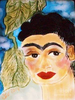Digital Frida Poster by Viva La Vida Galeria Gloria