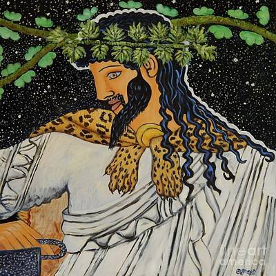 Dionysus  Poster by Caroline Street