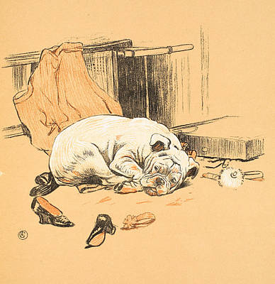 Disappointment At Not Finding The Chocolates Poster by Cecil Charles Windsor Aldin