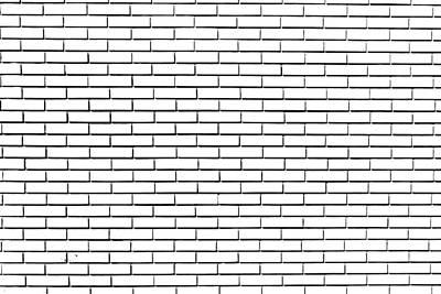 Disegno Di Un Muro Di Mattoni Poster by Orazio Puccio