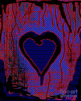 Disintegration Poster by Roz Abellera Art
