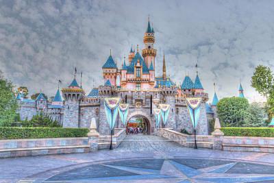 Disney Magic Poster by Heidi Smith