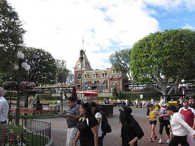 Disneyland Park Anaheim - 12121 Poster by DC Photographer