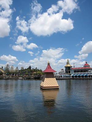 Disneyland Park Anaheim - 121260 Poster by DC Photographer