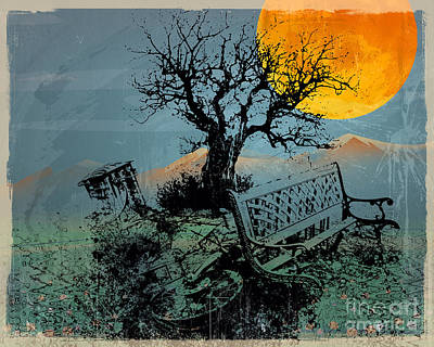 Displaced Memories Poster by Bedros Awak