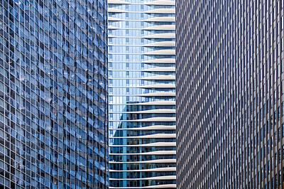 Distinctive Hotel Between Skyscrapers Poster by Steve Heap