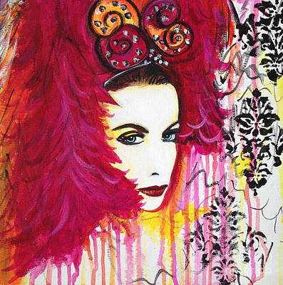 Diva Annie Lennox Poster by Julie Janney