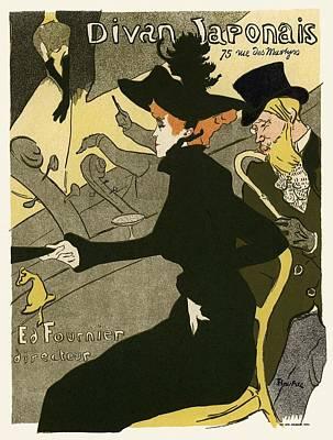Divan Japonais Poster by Gianfranco Weiss