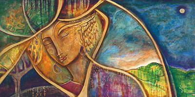 Divine Wisdom Poster by Shiloh Sophia McCloud