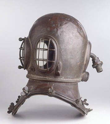 Diving Helmet, Early 19th Century Poster by Clive Streeter / Dorling Kindersley / Science Museum, London