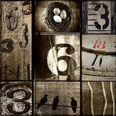 Divisible By Three Poster by Carol Leigh
