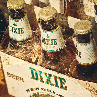 Dixie Beer Poster by Scott Pellegrin