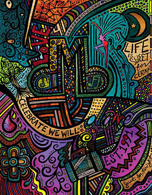 Dmb Love Poster by Kelly Maddern