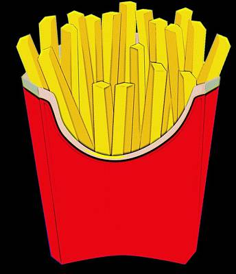 Do You Want Fries With That Poster by Florian Rodarte