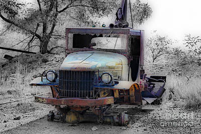 Dodge Tow Truck 2 Poster by Cheryl Young