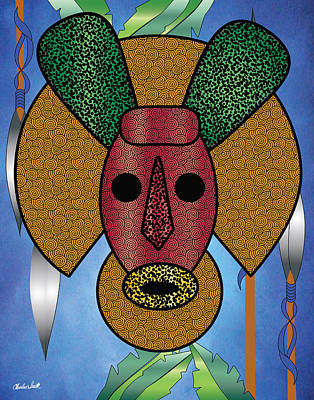 Dogon Pony Poster by Charles Smith