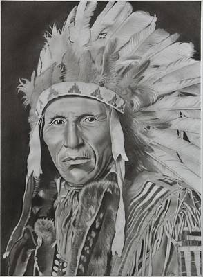 Dokata Chief Poster by Brian Broadway