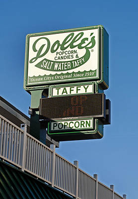 Dolle's Poster by Skip Willits