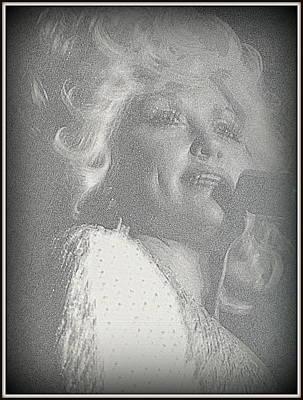 Dolly Parton Poster by Kay Novy