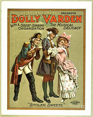 Dolly Varden The Musical Delicacy 1906 Poster by Padre Art