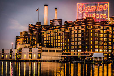 Domino Sugar  Poster by Greg Ketterman