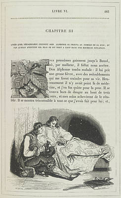 Don Alfonso On His Sick-bed Poster by British Library