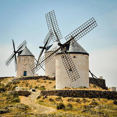 Don Quixote's Windmills Poster by Tetyana Kokhanets