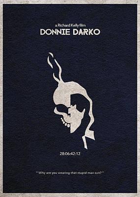 Donnie Darko Poster by Ayse Deniz