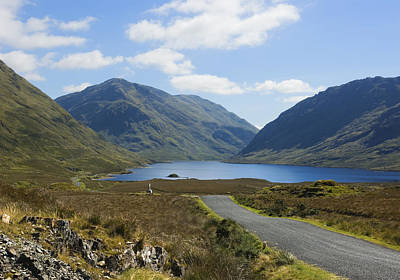Doolough Pass County Mayo Ireland Poster by Jane McIlroy