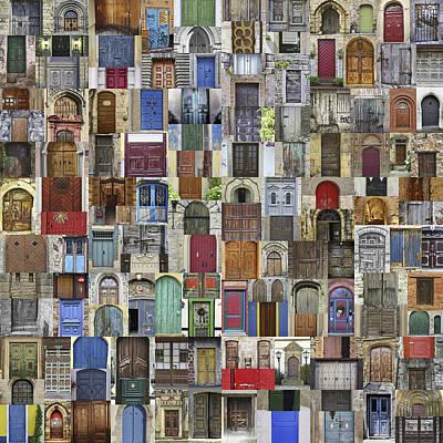 Door World Poster by Daniel Hagerman