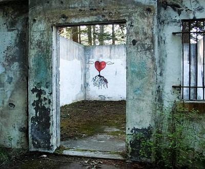 Doorway I Poster by Ronda Broatch