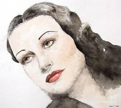 Dorothy Lamour Poster by Natalia Chaplin