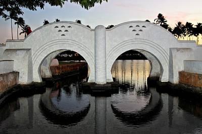 Double Arch Ala Moana Poster by DJ Florek