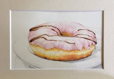 Doughnut You Want Some? Poster by Megan Doman