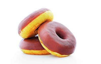 Doughnuts Poster by Wladimir Bulgar