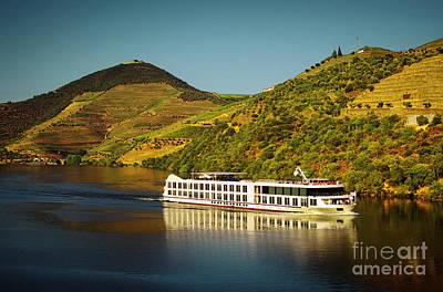 Douro Landscape V Poster by Carlos Caetano