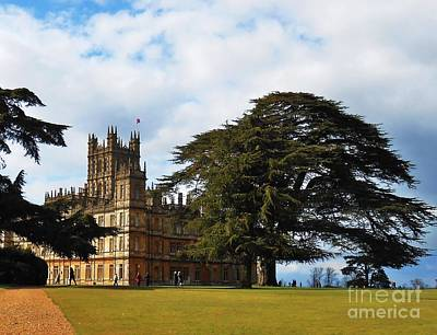 Downton Abbey Aka High Clere Castle 1 Poster by Courtney Dagan