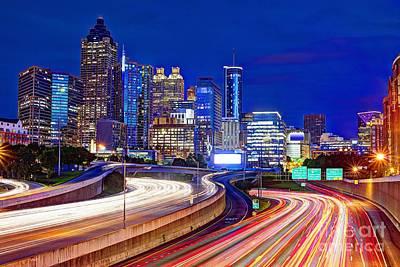 Downtown Atlanta Poster by Sean Pavone