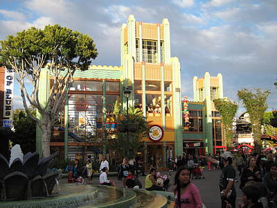 Downtown Disney Anaheim - 12127 Poster by DC Photographer