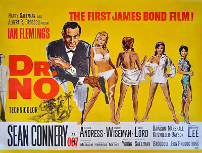 Dr No Poster by Georgia Fowler