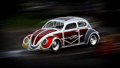 Drag Bug 4 Poster by Steve McKinzie