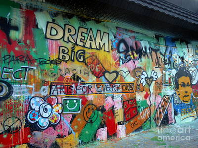 Dream Big Poster by Patti Gray