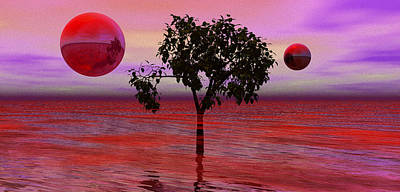 Dream Scapes Series One The Last Tree Poster by Sir Josef - Social Critic - ART