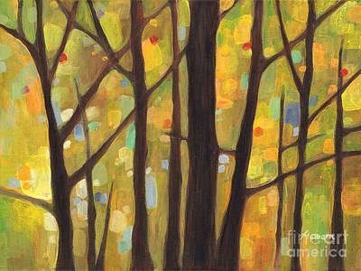 Dreaming Trees 1 Poster by Hailey E Herrera